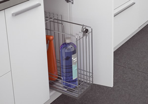 Lockable Detergent Pullout